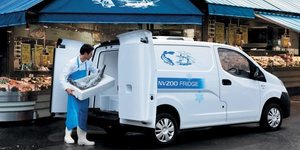 Nissan NV200 White Delivery Van