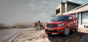 Mercedes Citan Red