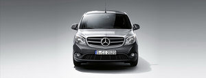 Mercedes Citan Front Silver
