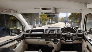 Volkswagon Transporter Interior