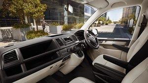 Volkswagon Transporter Interior Front Seats