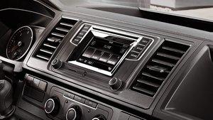 Volkswagon Transporter Interior Dashboard