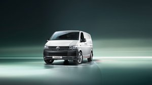 Volkswagon Transporter Front View
