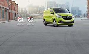 Renault Trafic Green Side