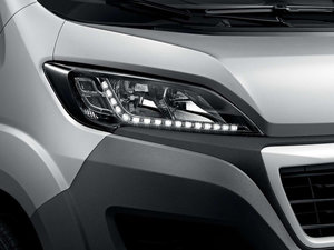 Peugeot Boxer Silver Front Light