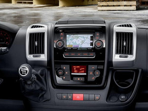 Peugeot Boxer Silver Dashboard