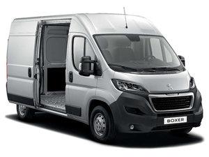 Peugeot Boxer Silver Side Van