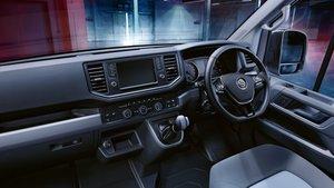Volkswagon Crafter Interior