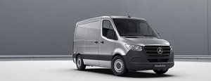 Mercedes Sprinter Silver Side