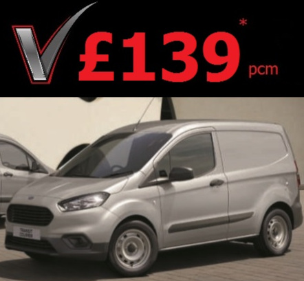 Ford Transit Courier - 75ps 1.5TDCi Base ModelWith Remote Central Locking & DAB Radio.Finance Lease from only £139* a monthUnlimited MileageHire Purchase & Contract Hire Options Available. Call Us Now for Details.*Subject to VAT at 20%