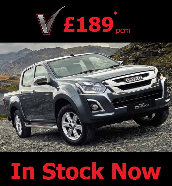 Isuzu D-Max Yukon   Double Cab - 5 Year/125,000 mile Manufactures Warranty, 5 Year UK Roadside AssistanceFinance Lease from only £189* a month + Final Balloon PaymentNo Mileage RestrictionsHire Purchase and Contract Hire Options Available. Call Us Now for Details.*Subject to VAT at 20%