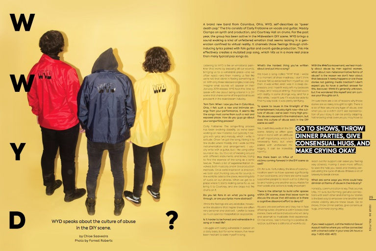 CHECK OUT OUR INTERVIEW WITH TOM TOM MAGAZINE