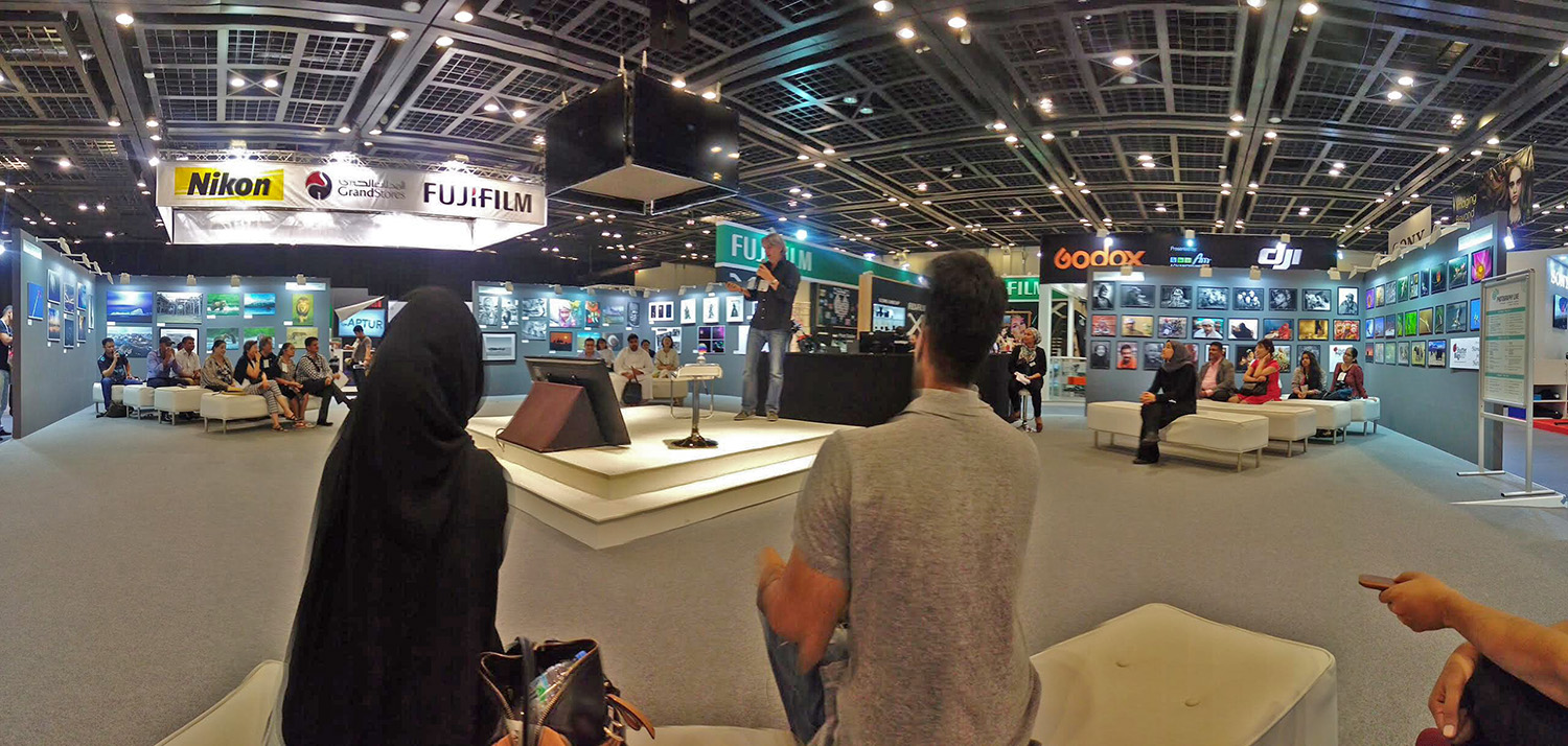 'Photography Live' event in Dubai