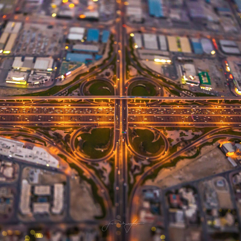 Road and interchange
