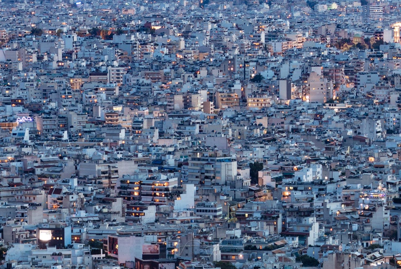 Athens density