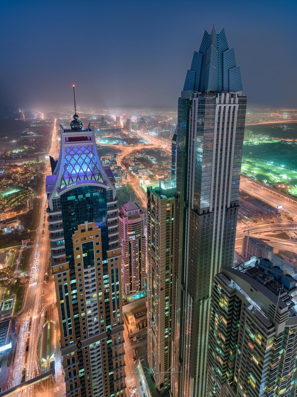 The tallest hotel in the world