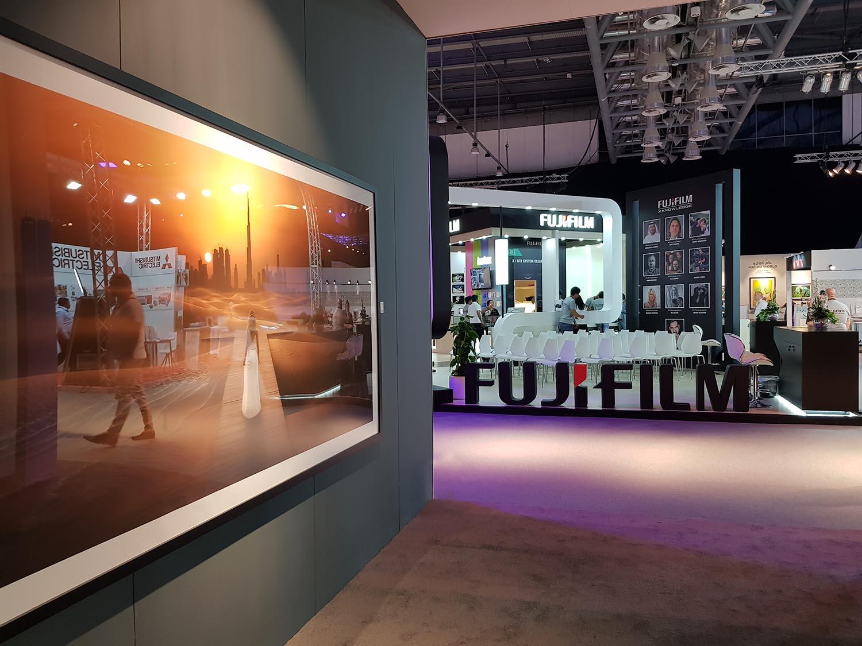 Fujifilm stand