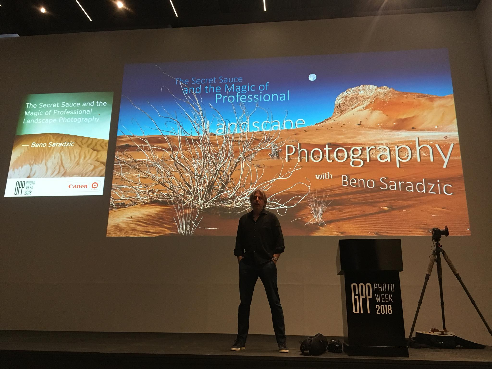 My talk at GPP 2018 on the secrets of Professional Landscape Photography