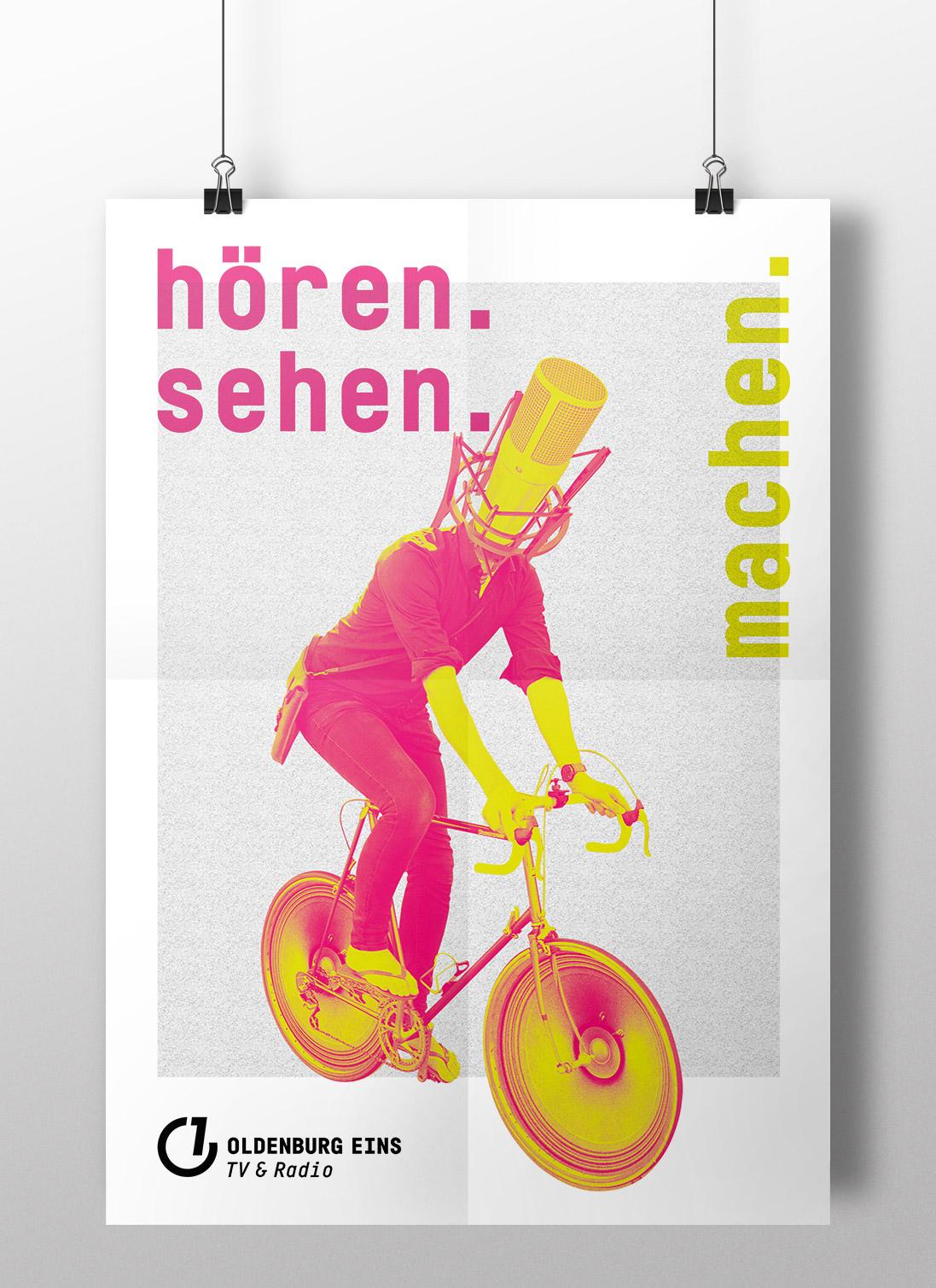 Design und Werbung für Oldenburg Eins