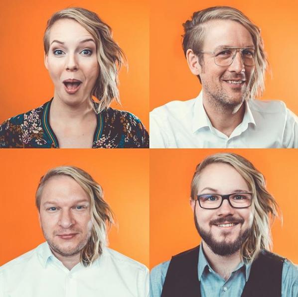 Kreatives Team für kreative Werbung