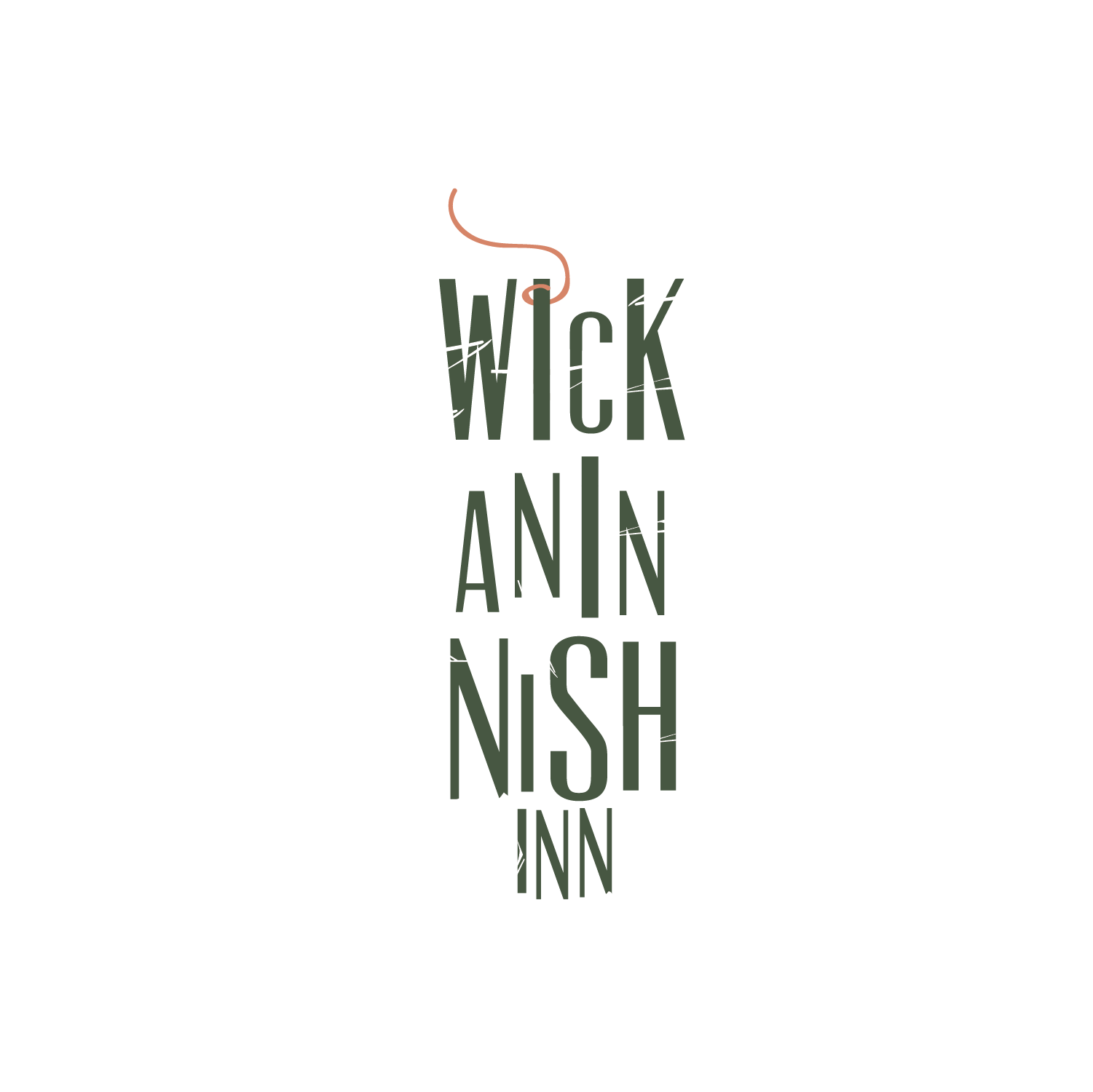 Logo redesign for rustic yet luxury hotel.