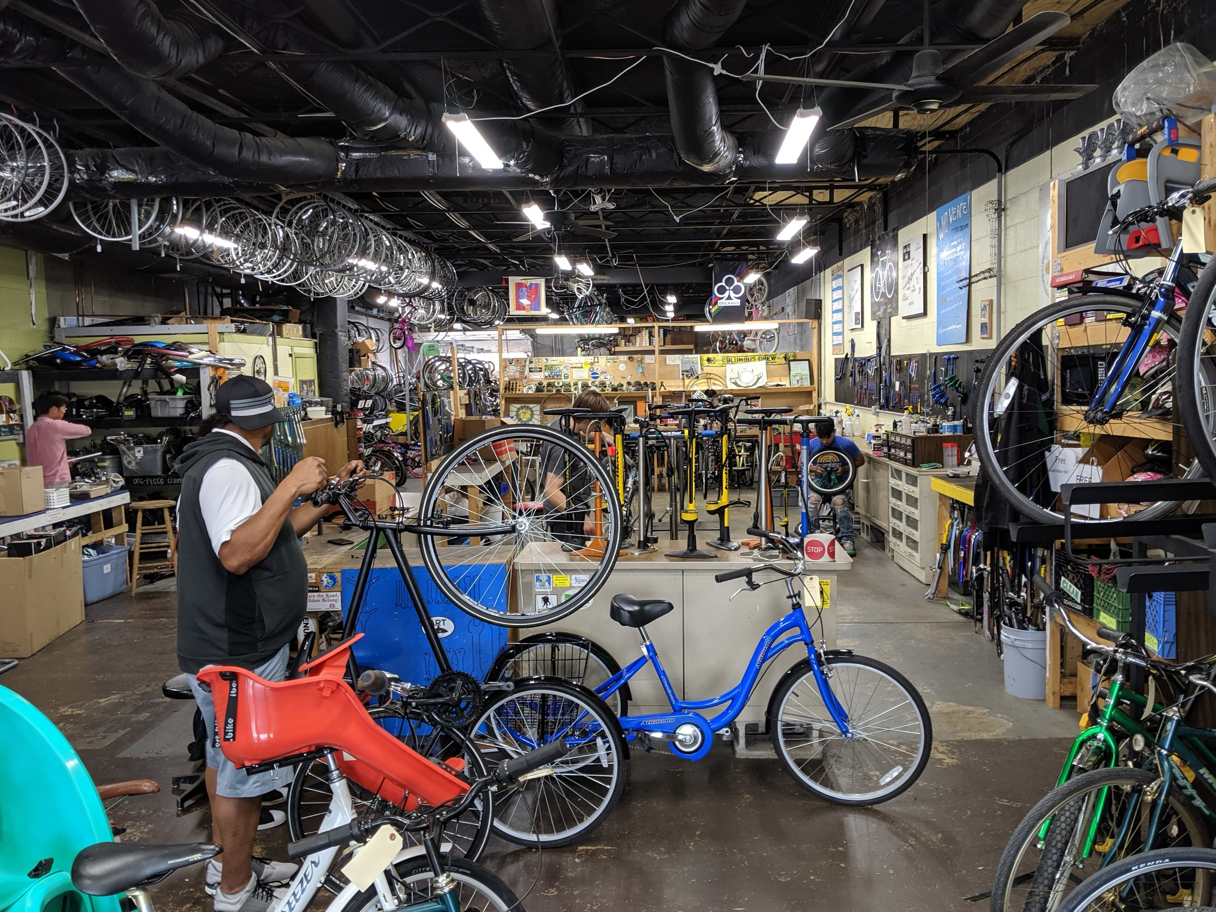 """""""Excuse me, do you sell any bikes?"""""""
