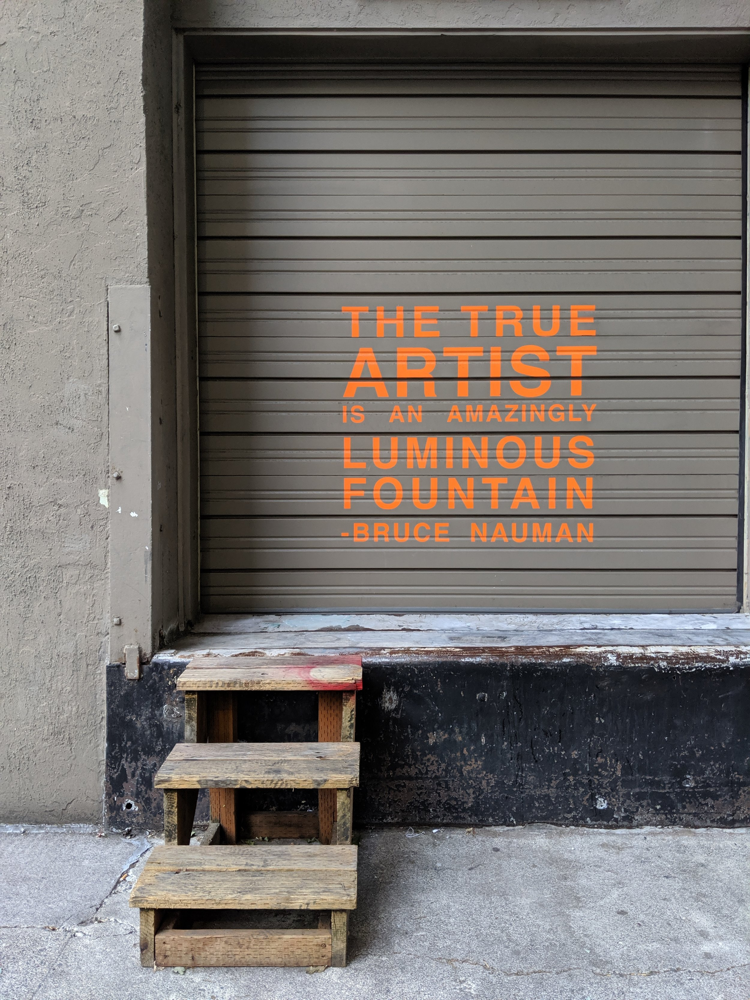 The false artist is a dull and stagnant pool