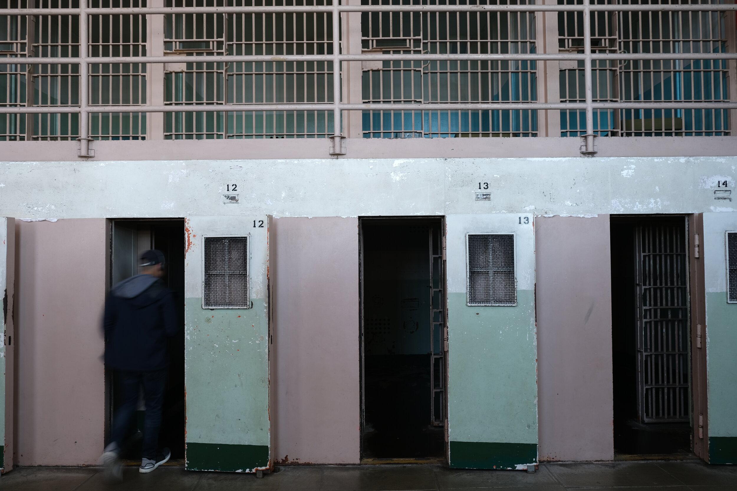 Even felons need tiny dark hell rooms