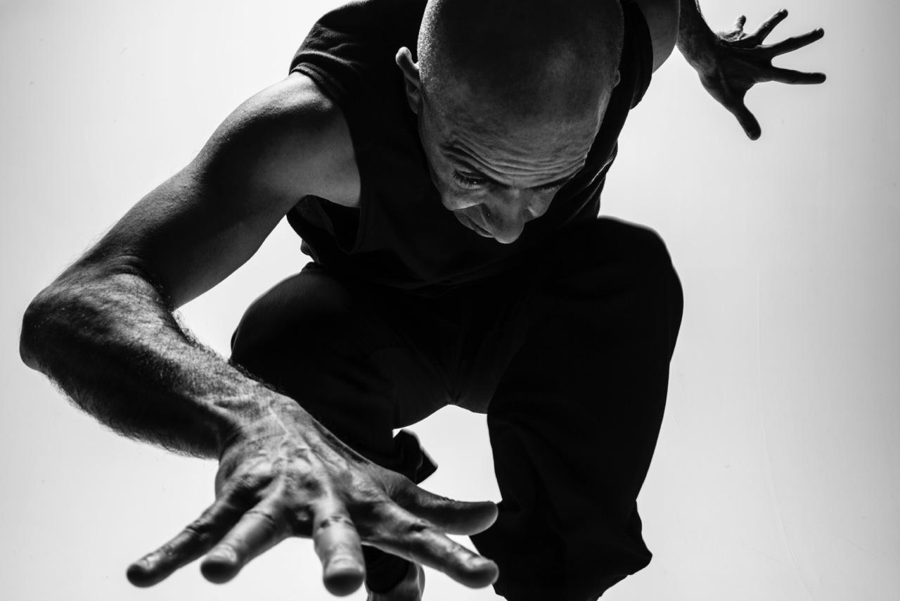 Falmouth University - Dancer, Senior Lecturer Kuldip Singh-Barmi Photo by Daniela Buda