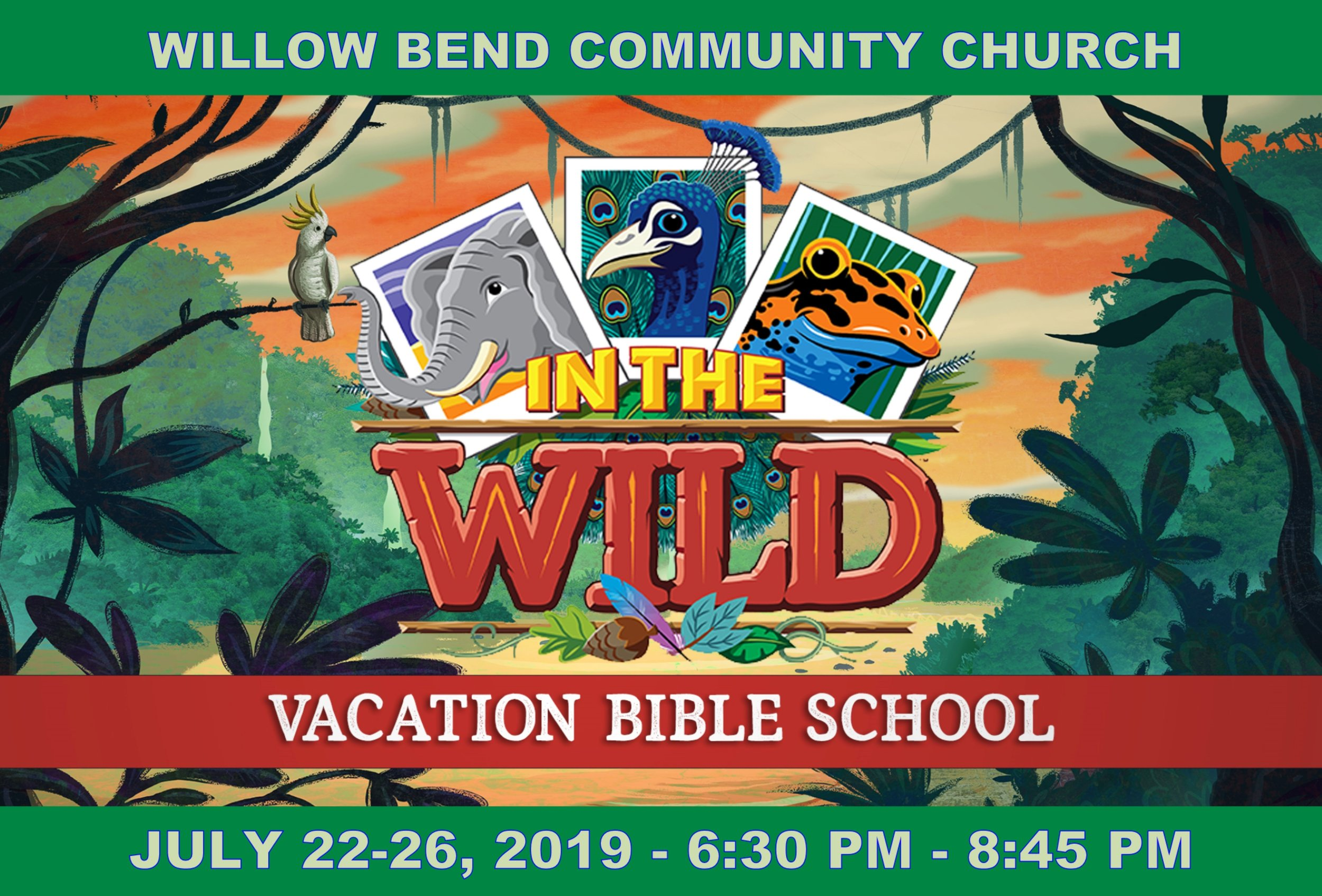 VBS - In The Wild — Willow Bend Community Church