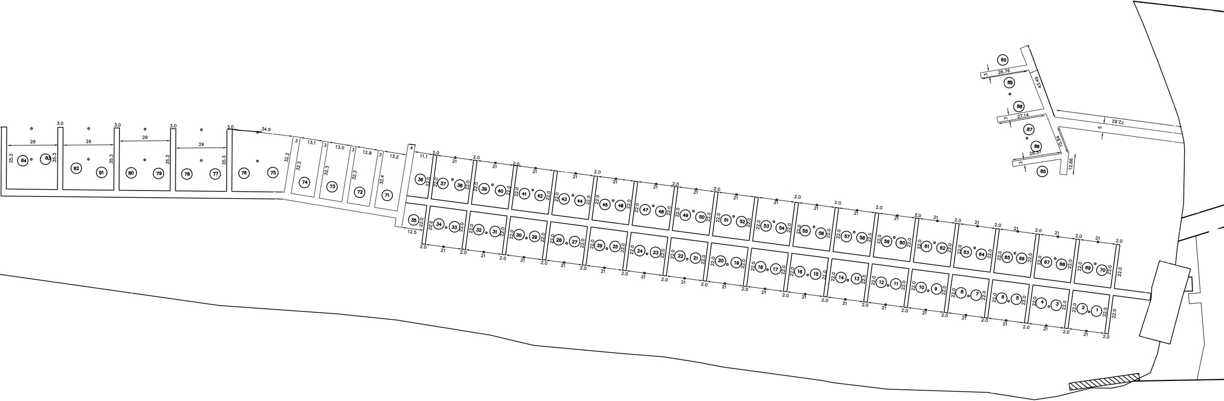 St albans bay dock map
