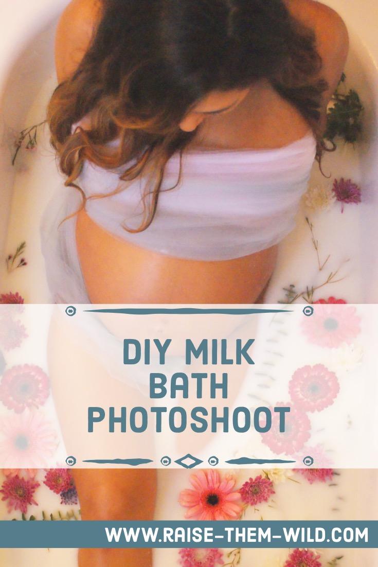 How to recreate your own milk bath photoshoot