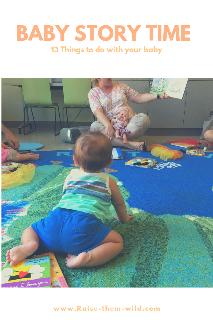 13 places to go with your baby. Library story time