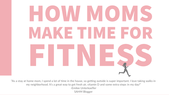 how moms make time to workout with multiple children. 11 tips, tricks, and advice from real moms