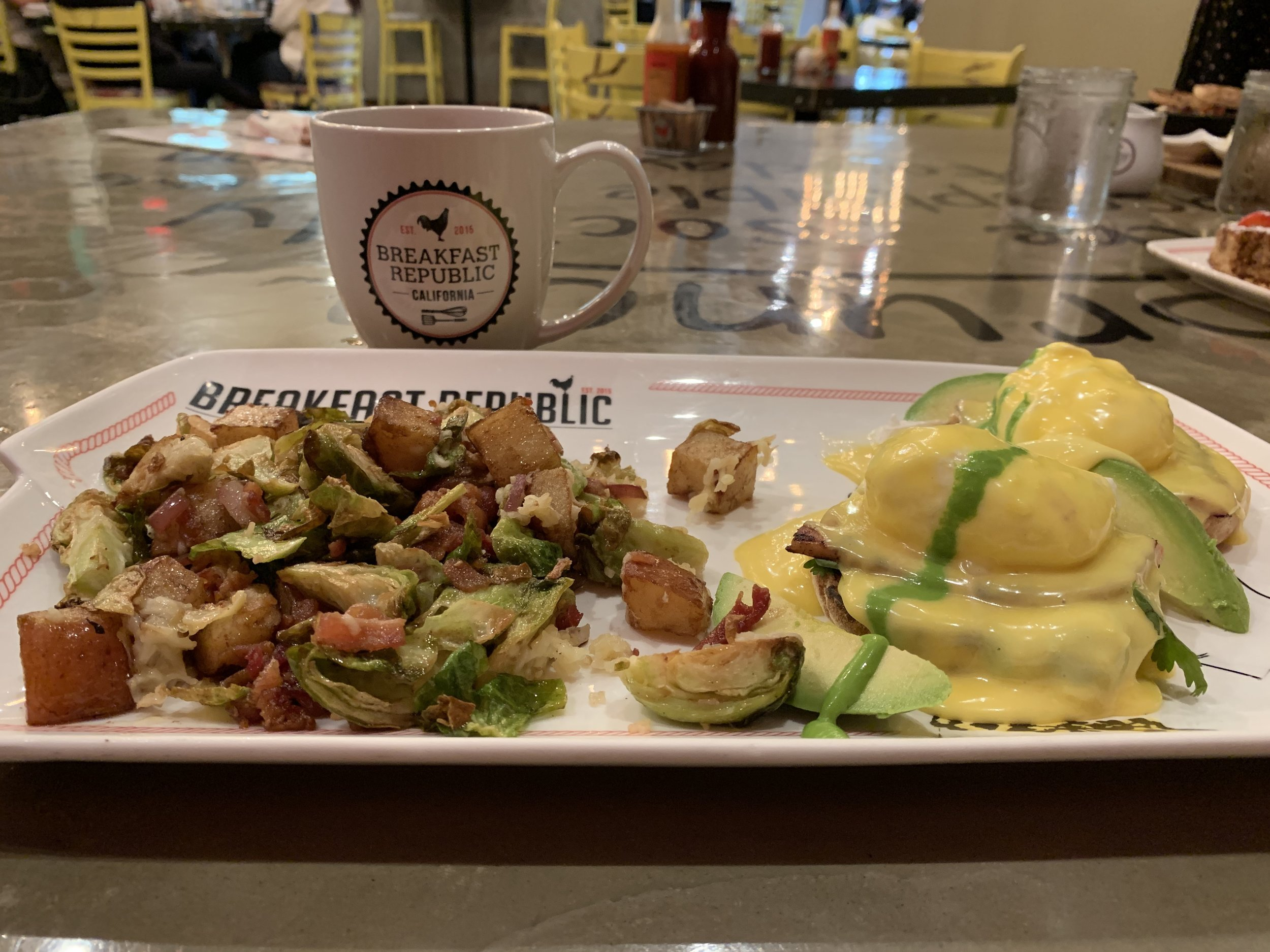 San Diego eggs Benedict: Breakfast republic brunch, the best eggs Benedict