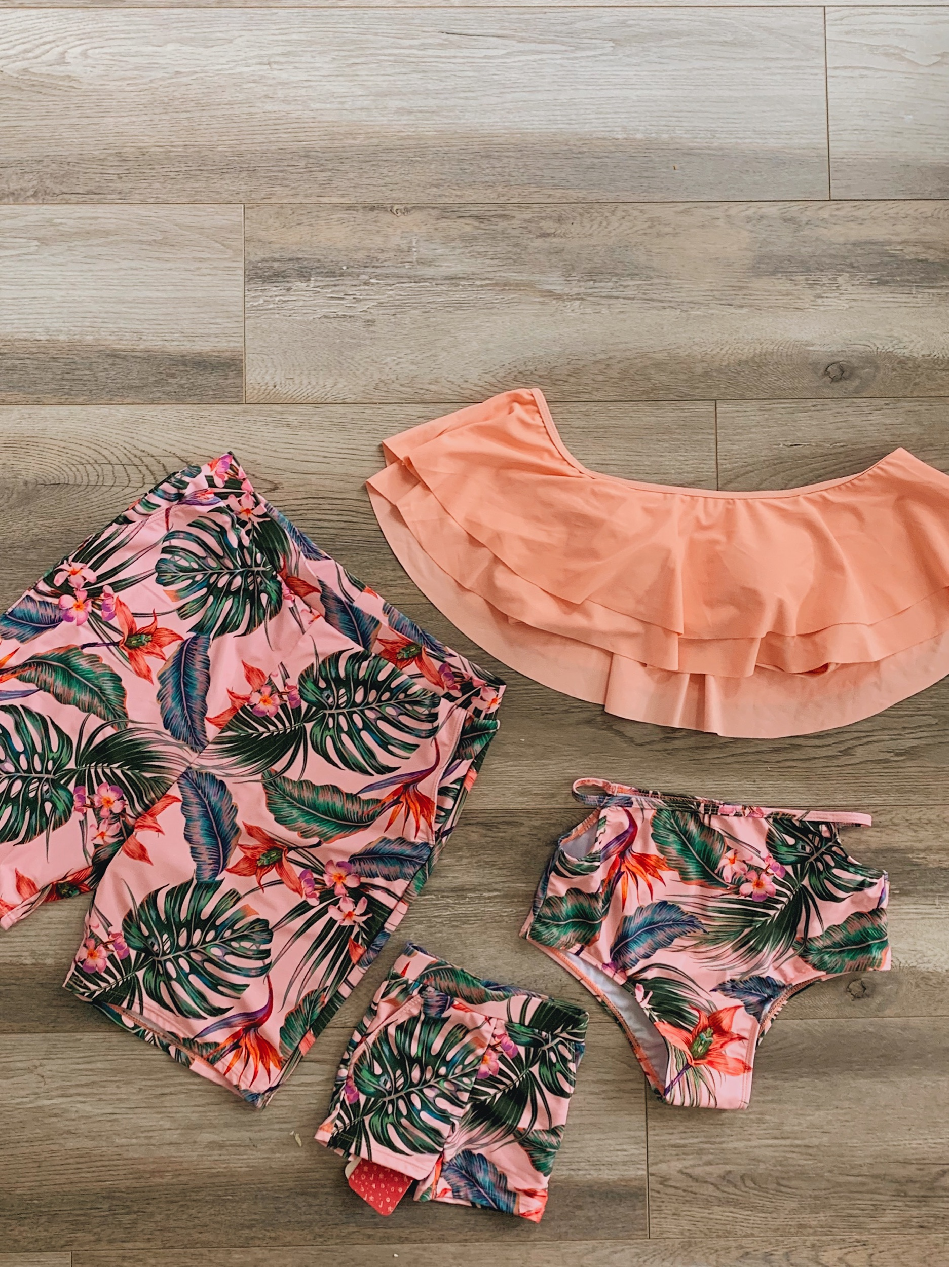 Matching swimwear under $20 you and your entire family needs!