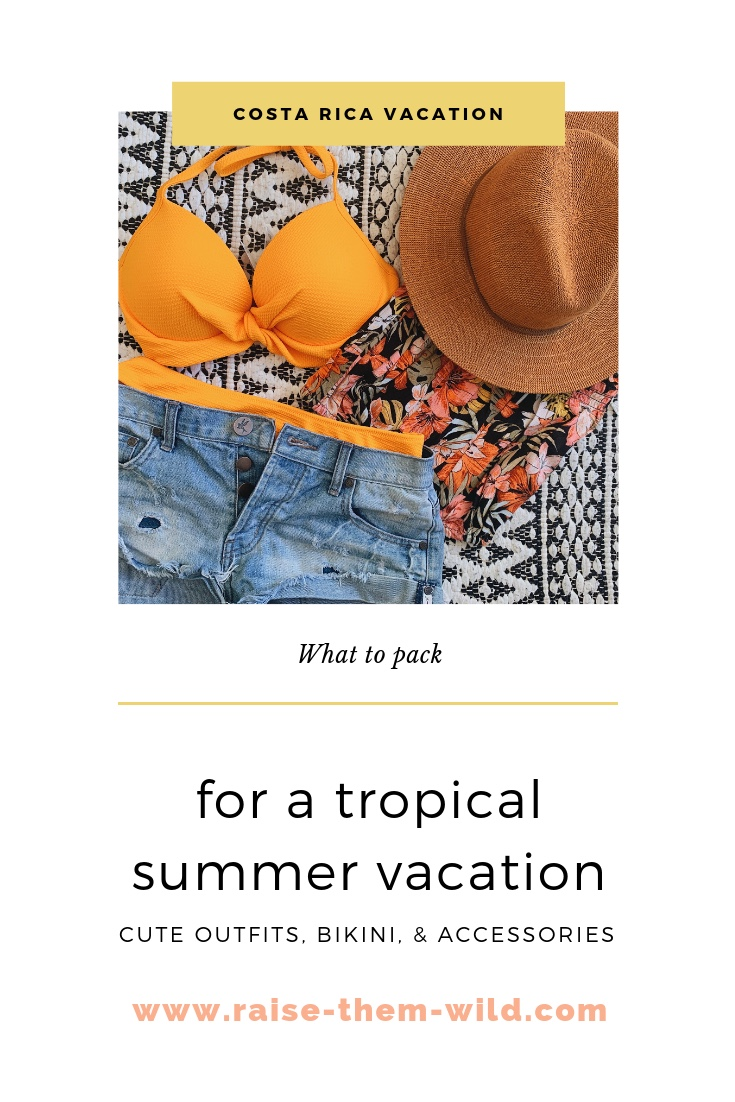 What you need to pack for a tropical summer vacation