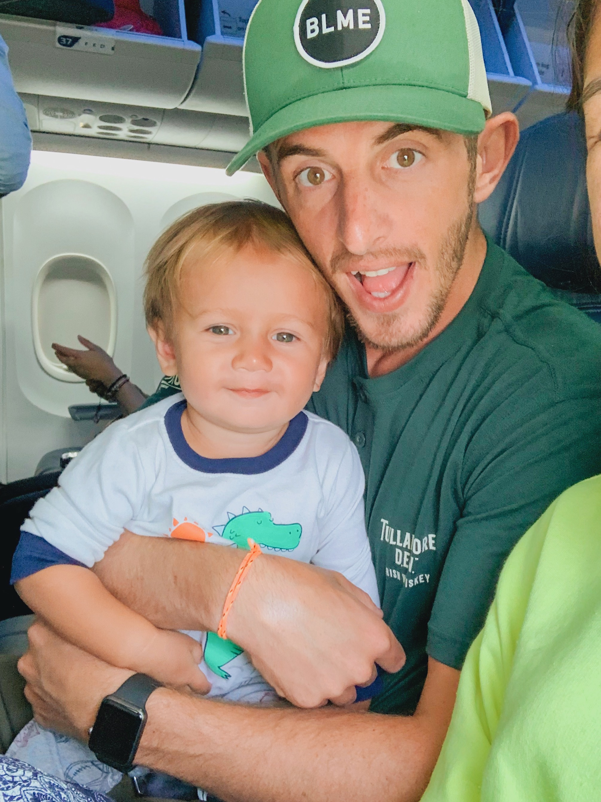 Tips and tricks for flying international with a toddler