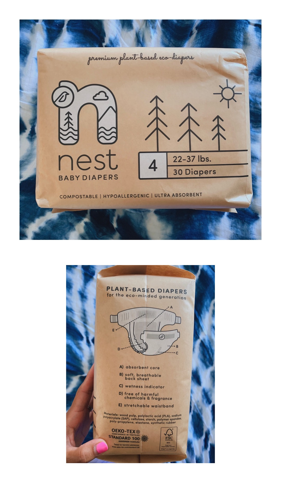 Nest diapers has partnered with compost companies in the area to come and properly dispose of your diapers