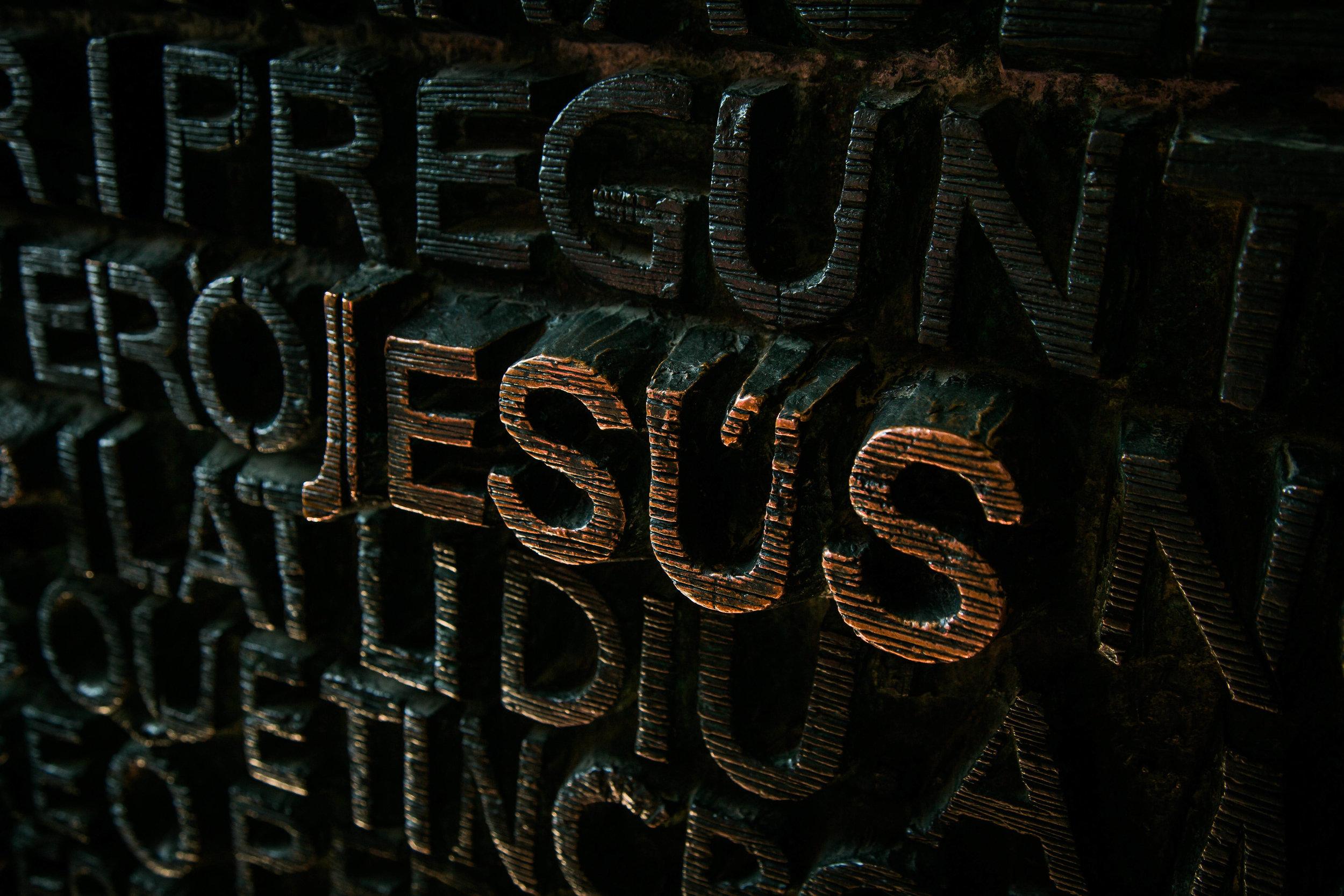 Jesus. -