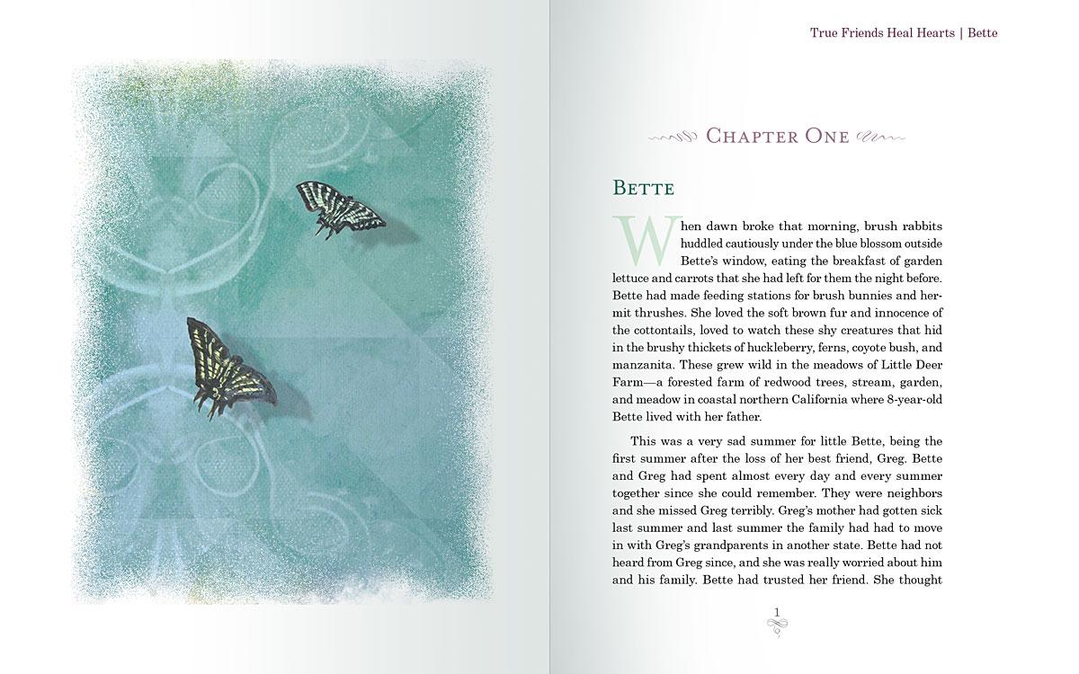 Interior page design for Lonnie Limpet, by  Julianne S. van Schoor, M.D.Eric P. van Schoor, Ph.D.
