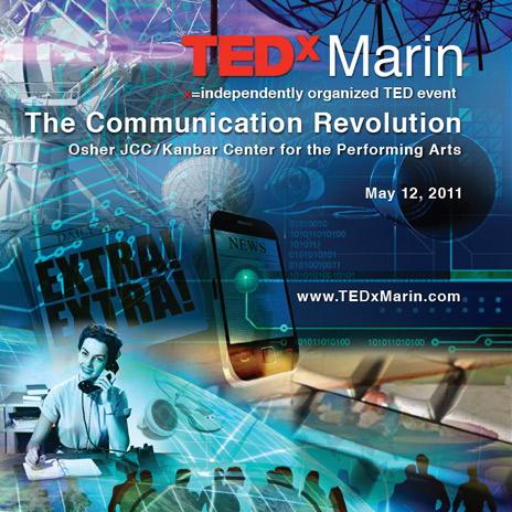 TedXMarin program cover
