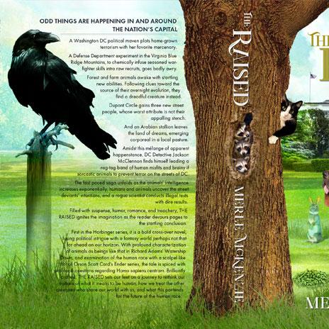 The Raised sci-fi novel by Merle Mckenzie