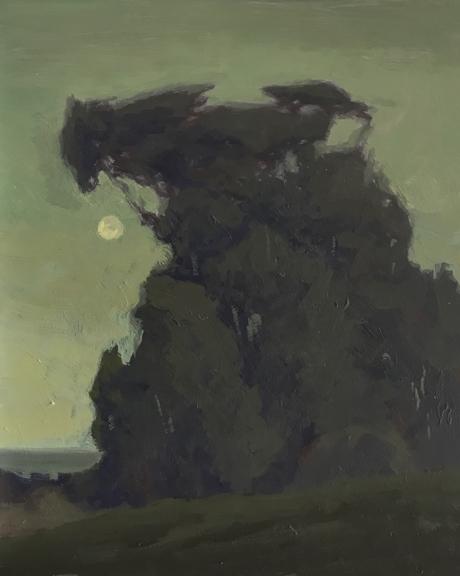 Treeline Moonrise