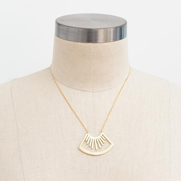 """""""Hari"""" handmade necklace in 14K gold plate - $52.00 (currently on sale for $39.80!)"""