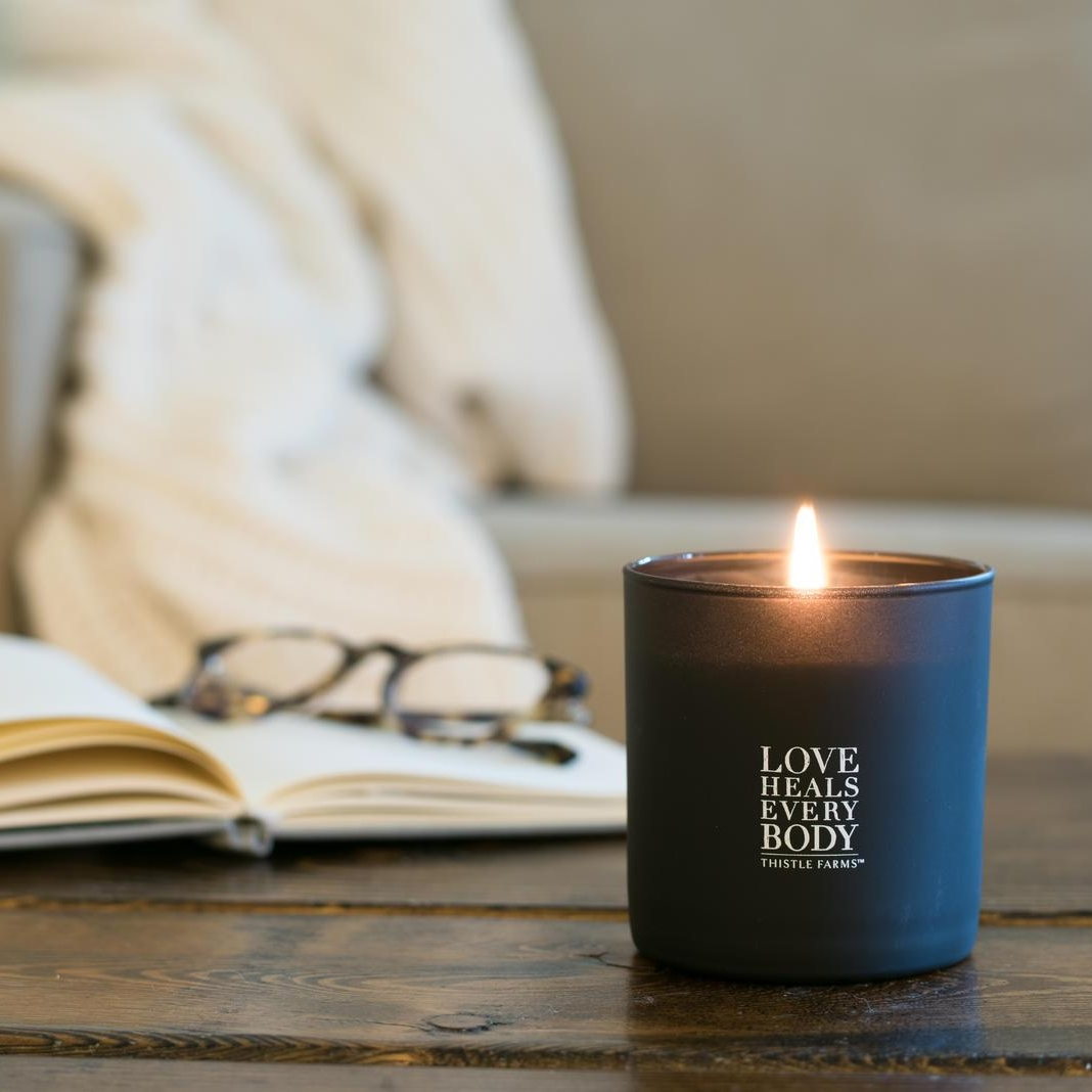 Vegan, soy, hand-poured candle - $28