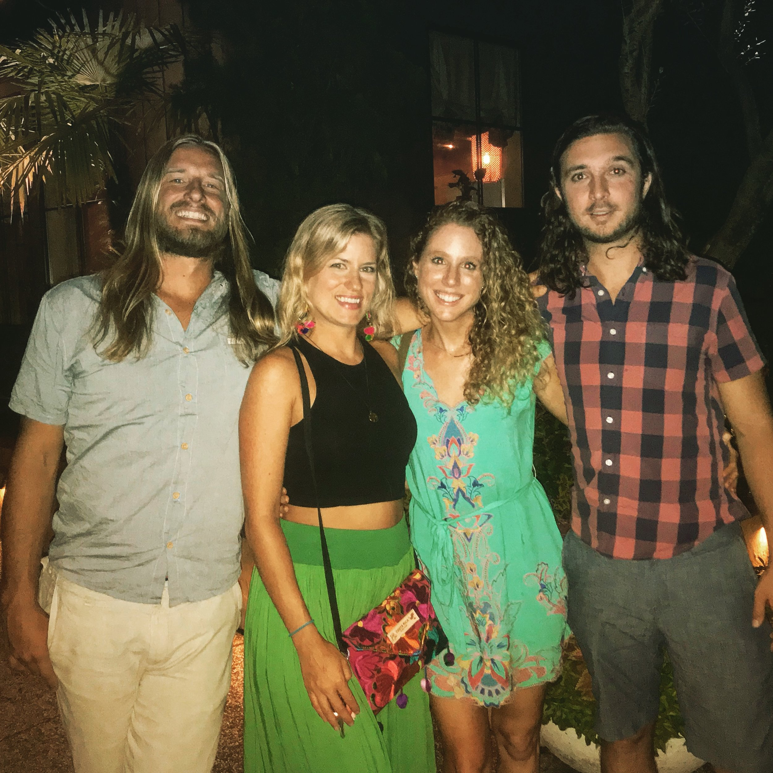 The tribe on one last date night a few months ago before I left for Beaufort :)