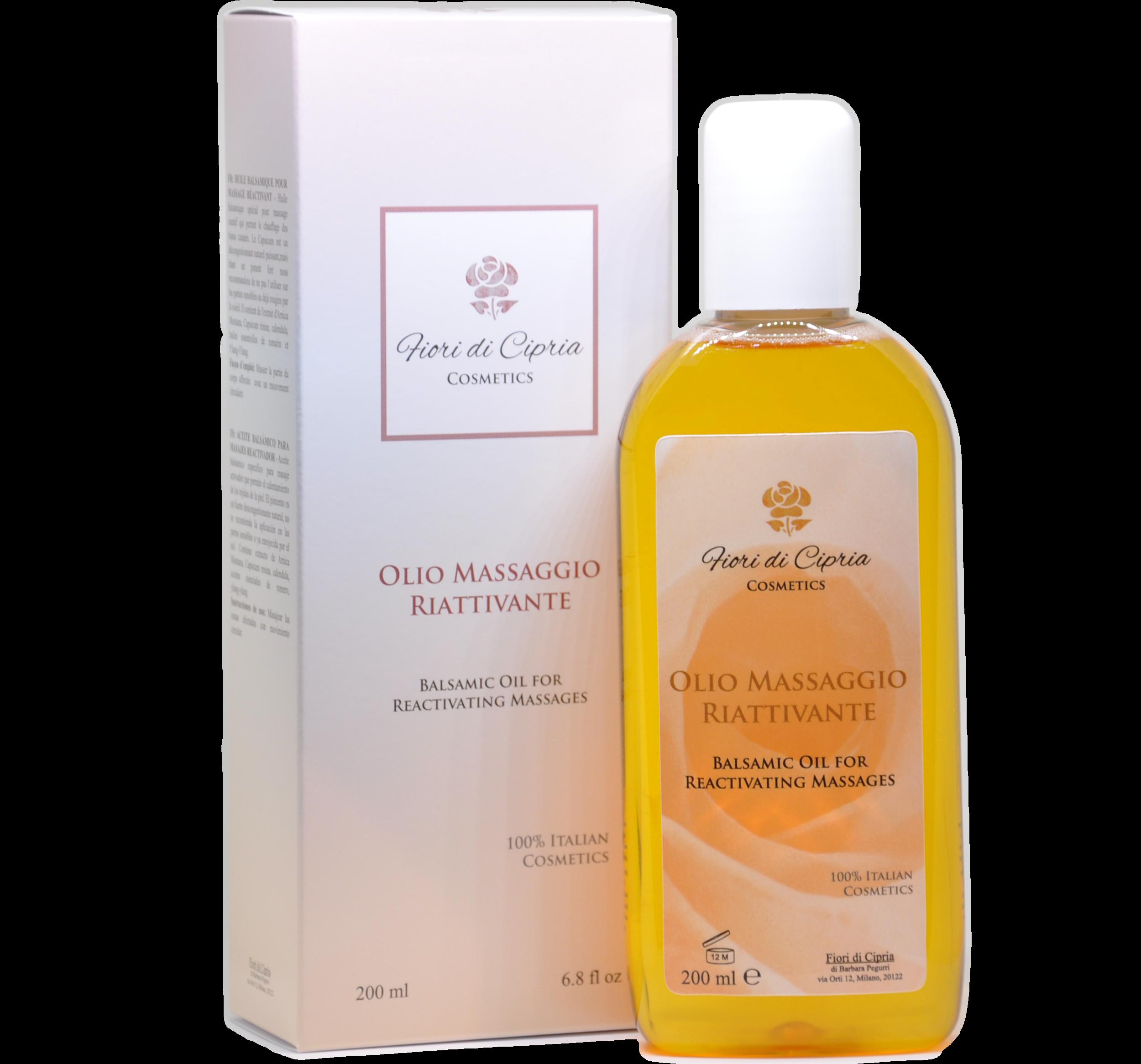 Balsamic Oil For Reactivating Massages