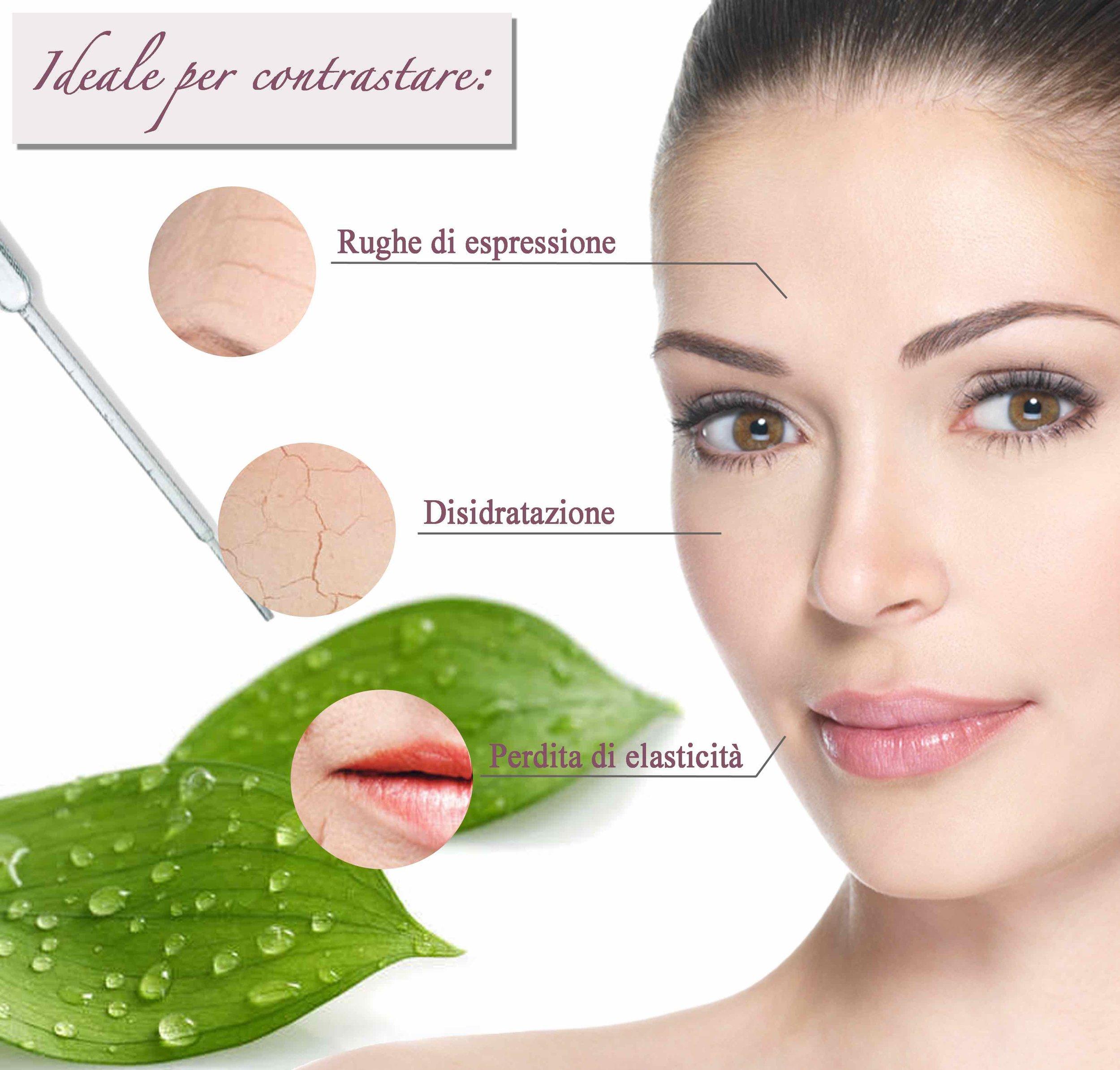A cosa servono le cellule staminali nella cosmetica? - Con l'avanzare dell'età, le cellule presenti nel nostro corpo invecchiano perché perdono la loro capacità di rigenerarsi. La pelle, quindi, invecchia perché non riceve più un adeguato ricambio cellulare.Il processo di invecchiamento delle cellule (o senescenza) della pelle del viso è accelerato da alcuni fattori esterni aggressivi come, ad esempio, l'inquinamento atmosferico, i raggi UV, il fumo, l'alcol e l'alimentazione scorretta. A questo si unisce anche la perdita della capacità di rispondere efficientemente allo stress ossidativo causato dall'azione dei radicali liberi.Le cellule staminali vegetali, grazie alle loro proprietà di auto rigenerazione, stimolano la naturale capacità delle cellule dell'epidermide e del follicolo di costruire nuovi tessuti. In questo modo, le cellule staminali vegetali ritardano gli effetti dell'invecchiamento e aumentano le naturali capacità della pelle nel contrastare gli attacchi degli agenti esterni.Le colture di cellule staminali vegetali per l'uso cosmetico contengono un complesso di sostanze in grado di proteggere la pelle prevenendo l'invecchiamento cutaneo quali sali minerali, zuccheri, proteine, fenoli, amminoacidi e lipidi.