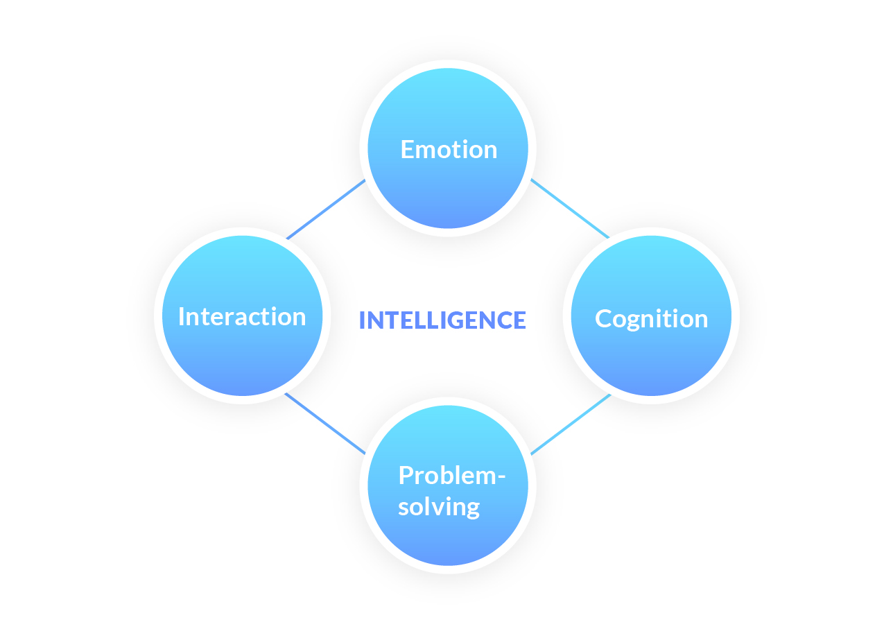 The 4 elements user can define if this is an intelligent product.